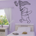 Sticker Winnie Papillon