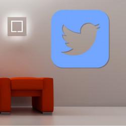 Sticker Logo Twitter