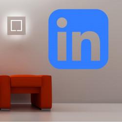 Sticker Logo Linkedin