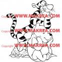 Sticker Winnie et Tigrou