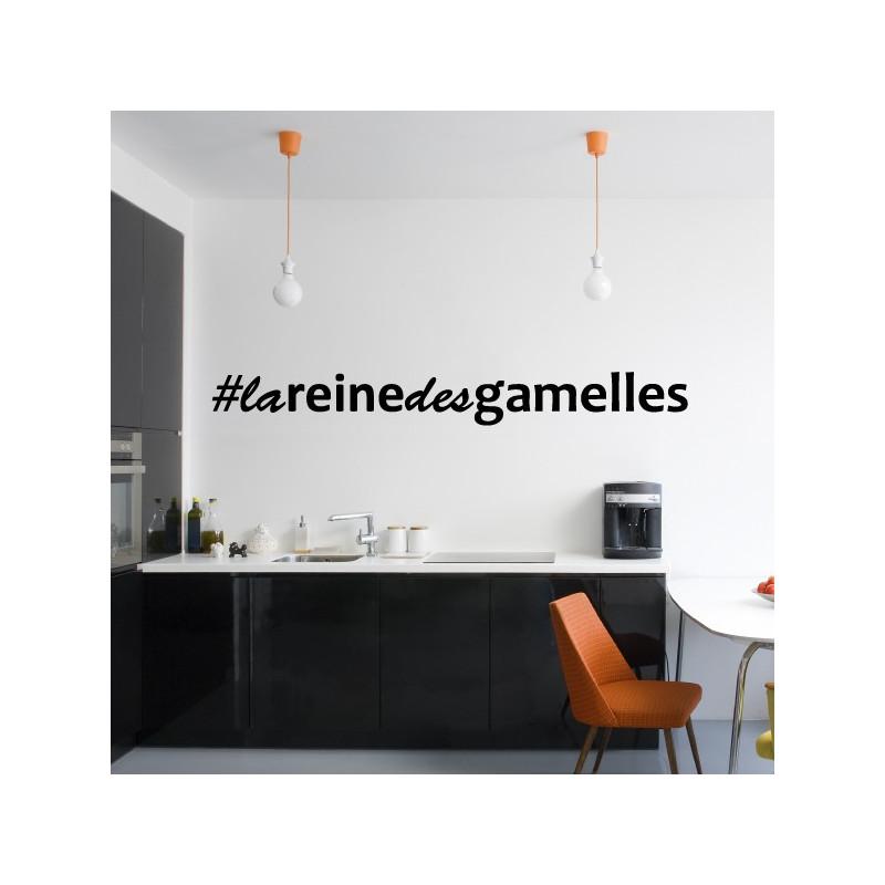 Sticker Hashtag La Reine Des Gamelles