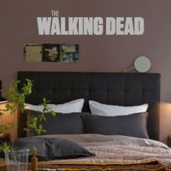 Sticker Logo The Walking Dead