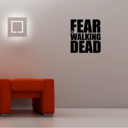 Sticker Logo Fear The Walking Dead