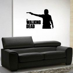 Sticker The Walking Dead - Silhouette Pistolet