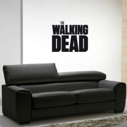 Sticker Logo The Walking Dead Carré