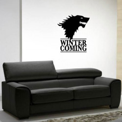 Sticker Game Of Thrones - Winter is Coming