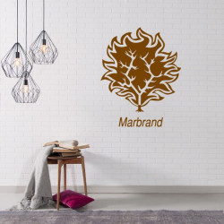 Sticker Game Of Thrones - Blason Maison Marbrand