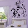Sticker Tigrou et Winnie
