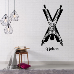 Sticker Game Of Thrones - Blason Maison Bolton