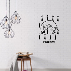 Sticker Game Of Thrones - Blason Maison Florent