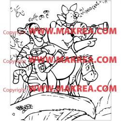 Sticker Winnie et ses amis 2