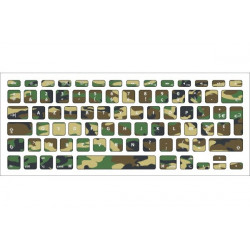 Sticker Camouflage pour Clavier Macbook