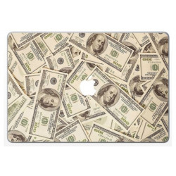 Sticker Skin Dollars pour MacBook