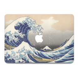 Sticker Skin Vague Océan pour MacBook