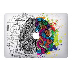 Sticker Skin Brain pour MacBook