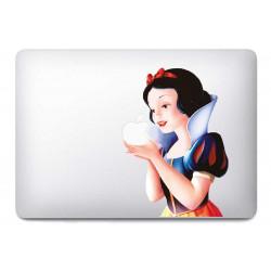 Sticker Blanche Neige pour MacBook