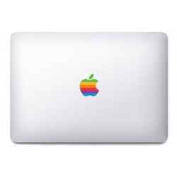 Sticker Apple Old School pour MacBook