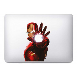 Sticker Iron man pour MacBook