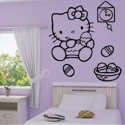 Hello Kitty Peinture sur Oeufs