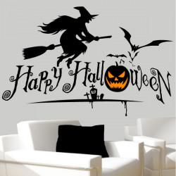 Pack / kit Halloween Sorcière, Chauve-souris, Cimetière, citrouille