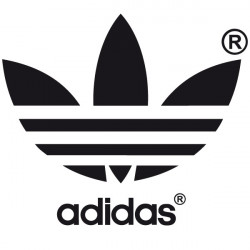 Sticker Logo Adidas