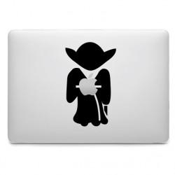 Sticker Maître Yoda pour MacBook