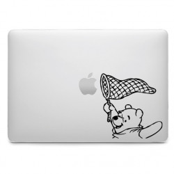 Sticker Winnie filet pour MacBook