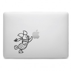 Sticker Porcinet pour MacBook