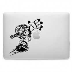 Sticker Buzz l'éclair pour MacBook