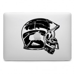 Sticker Pompier Casque pour MacBook