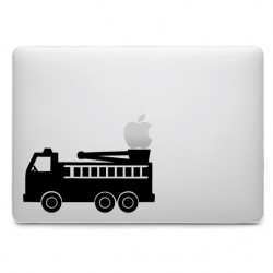 Sticker Camion de Pompier pour MacBook