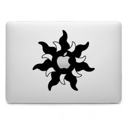 Sticker Soleil pour MacBook