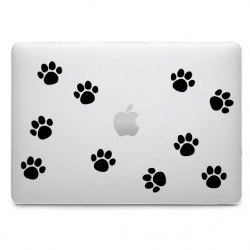 Sticker 10 pas d'ourson pour MacBook