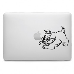 Sticker Scamp Belle et le Clochard pour MacBook