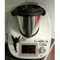 Sticker Thermomix TM5 - Fée clochette étoiles et Papillons+ La cuisine de ...