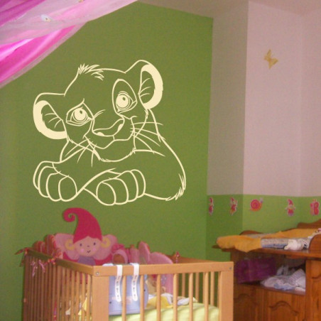 Roi Lion - Lionceau Simba Portrait