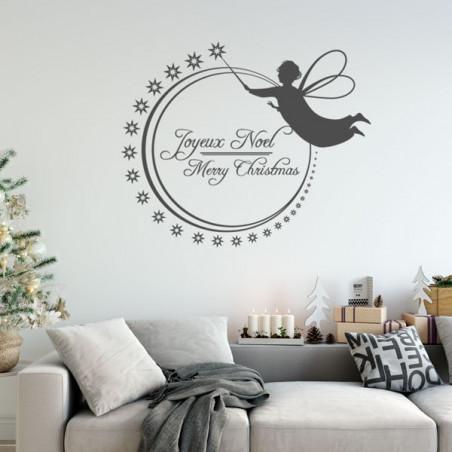 Joyeux Noël Ange et étoiles