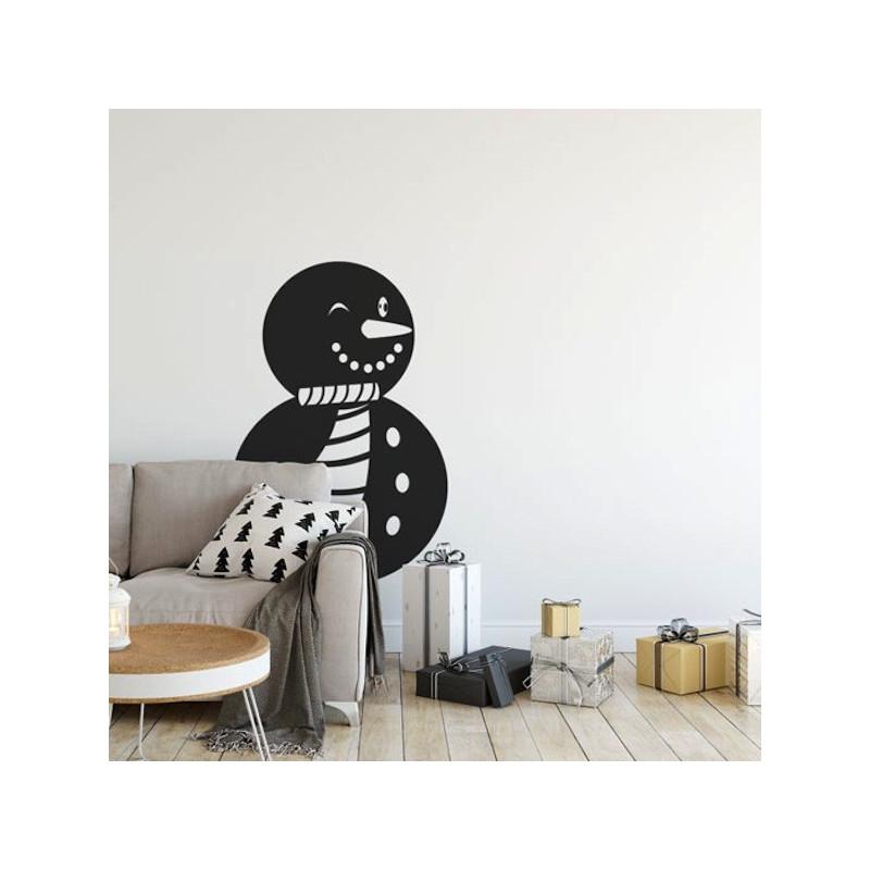 Sticker Noël - Bonhomme de Neige