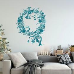 Couronne de Noël, Boules et Cloches
