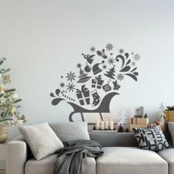 Noël - Traîneau - Décorations