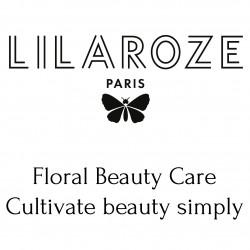 Logo Lilaroze + lettrage