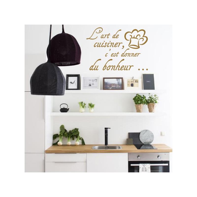 Cuisine - L'art de cuisiner, c'est donner du bonheur...+ Toque