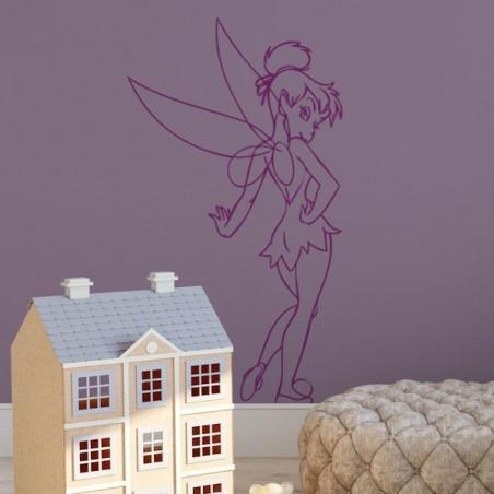 Peter Pan - Fée Clochette Debout