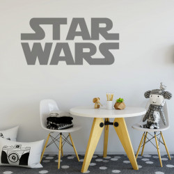 Sticker Logo Star Wars