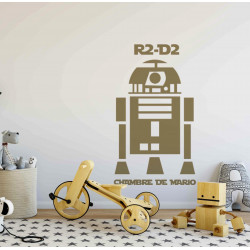 Sticker Star Wars - R2D2
