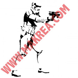 Star Wars - Dark Vador silhouette