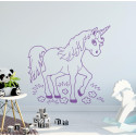Stickers Licorne