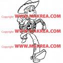 Sticker Woody Toy Story 3