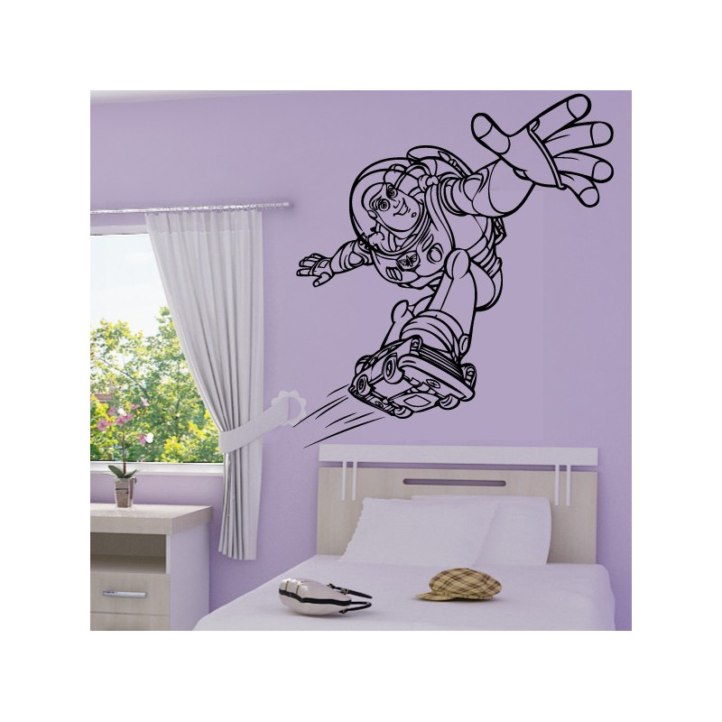 Sticker Buzz l'Eclair Toy Story 2