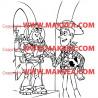 Sticker Buzz l'Eclair & Woody Toy Story